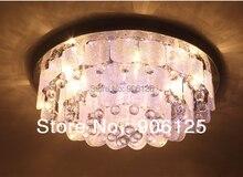 Современные Хрустальные Потолочные Светильники Стеклянный Потолок Светлая Гостиная Освещения Света Гарантировано 100% + Бесплатная доставка!