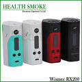 NEW 100% Original Wismec Reuleaux RX200 TC Box Mod 200W TC-Ni/TC-Ti/TC-SS/VW mode with indestructible Atomizer free shipping
