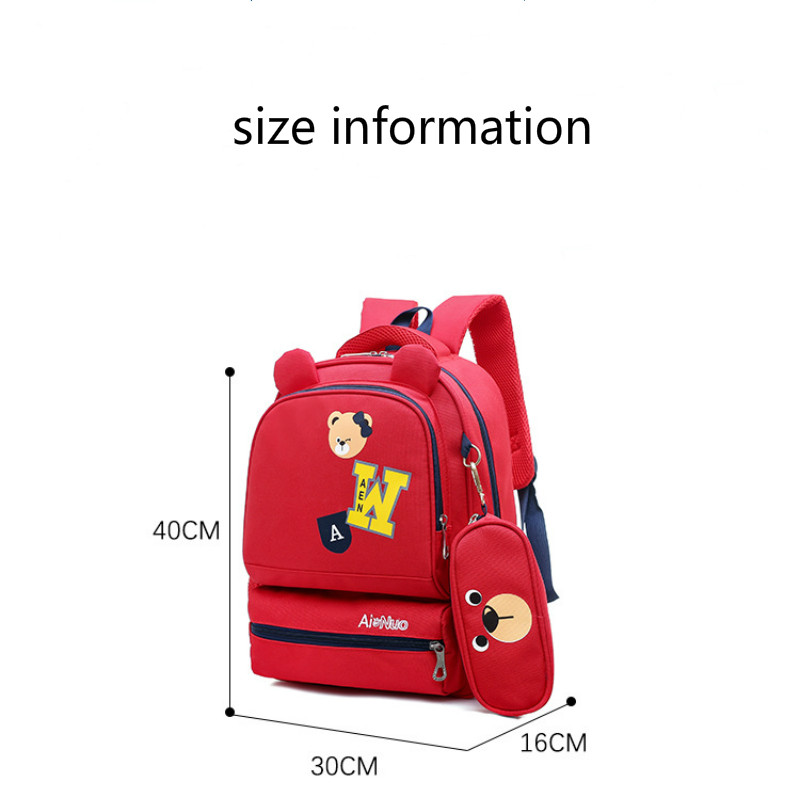 New Childern Schoolbags Orthopedic Primary Escolar Backpack Kids Waterproof Satchel Mochila Boys Bookbag Infantil Zip Sac Enfant in School Bags from Luggage Bags