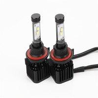 2 cái Mới Nhất K8 Xe Dẫn Đèn Pha Fog Lights 12 v Sửa Đổi 9003 9005 9006 H11 H7 H1 H4 Dẫn Bóng Đèn Đèn Chạy cho Xe Ô Tô tự động