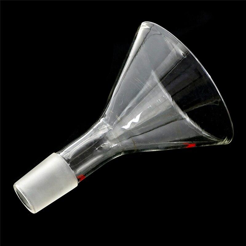 Chemistry Laboratory Glassware Funnel Lab Supplies lab Glassware,made From Borosilicate 90mm,24/40,glass Powder Funnel,100ml