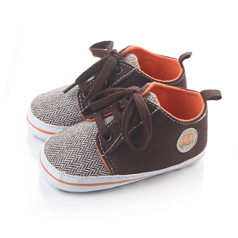 Baby Soft Sollet Footwear Male Baby Shoes Spring And Autumn Non-slip Canvas Shoes 0~1 Years Old S2