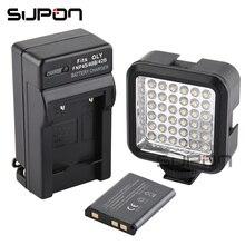 Supon мини свет вспышки Speedlite с литий-ионный аккумулятор и зарядное устройство 5500 ~ 6500 К фотографии освещения для Камера видеокамера