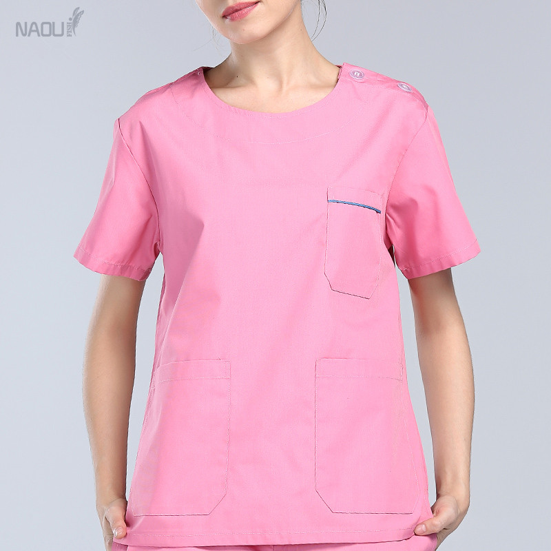 Surgeons Medical Clothing for Women Summer Two Pieces Set Nursing Medical Apparel Doctor Scrubs Personalized Embroidered Gift