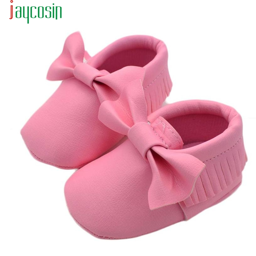 Baby Tassels PU Leather Baby Moccasins Baby Girl Shoes First Walker Toddler Mocassins Infant Shoe Soft Jan22