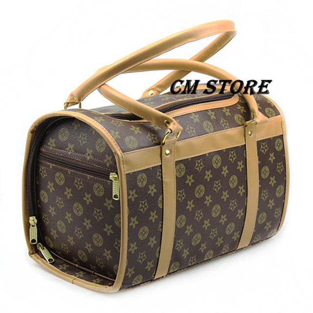Free Shipping Famous Brands Pet Handbags Dog Carrier Shoulder Bag With Small And Medium Size Suitable