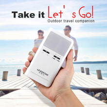 2016NEW Outdoor MP3 player bluetooth sound box 12 hours long time playing Emergency Power bank for travel Slim APP control MX-10
