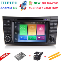 Android 6 01 Two Din 7 Inch Car DVD Player For E Class W211 Mercedes Benz