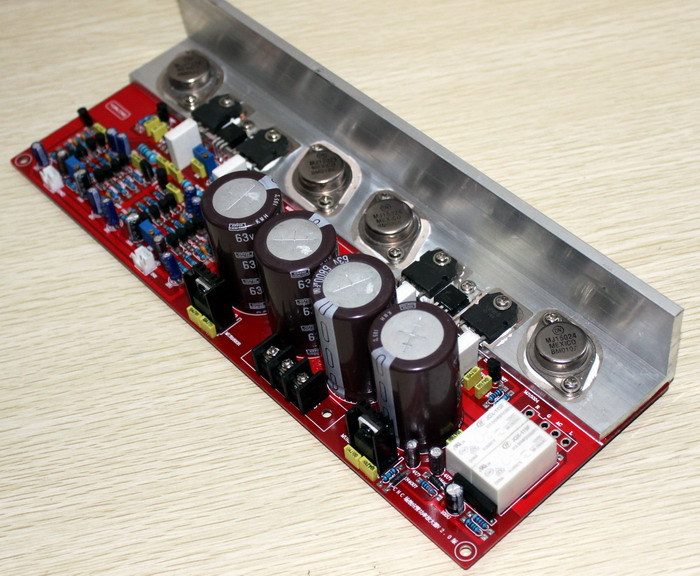 FET (2SK2955, 2SJ554) amplifier board ( imitation PMA-S1) Using original MJ15024, MJ15025, 2SK2955, 2SJ554 roland sj 540 sj 740 fj 540 fj 740 6 dx4 heads board