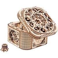 2019 nueva caja de joyería de madera ensamblada juguete creativo regalo puzle modelo de transmisión mecánica de madera ensamblado juguete DIY regalo