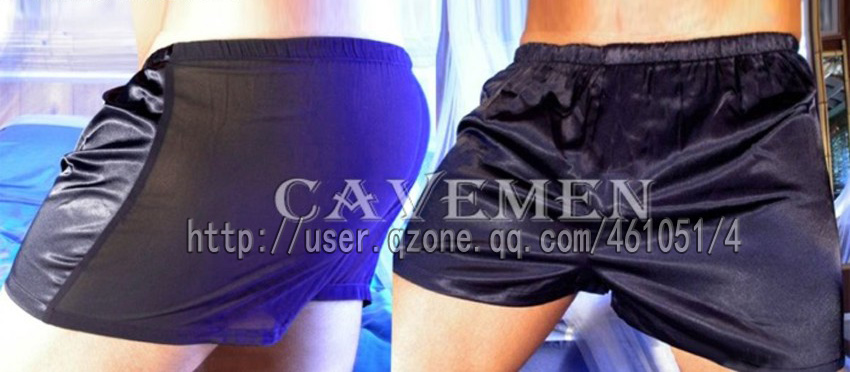 Perspective of yarn and silk 2588 sexy T Back G String Underwear Triangle pants boxer free shipping in Boxers from Underwear Sleepwears