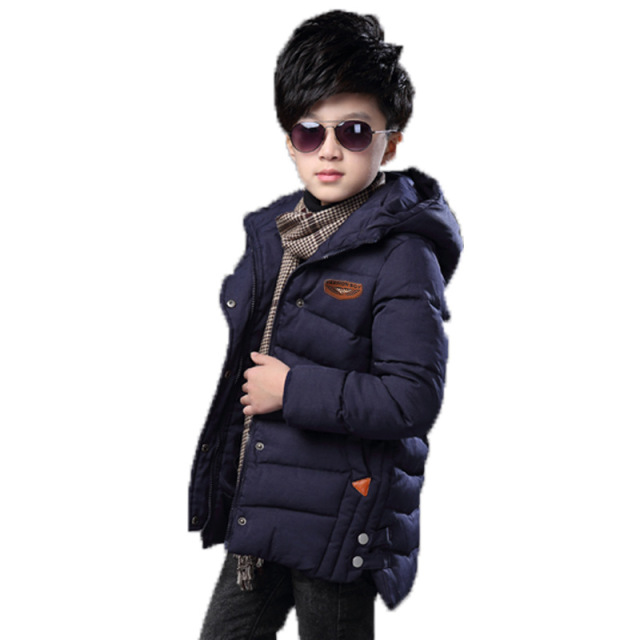 2017 Children's clothing boys winter coat Cotton-padded Warm Child Wadded Jacket Kids Thickening duck Down jacket cotton coat