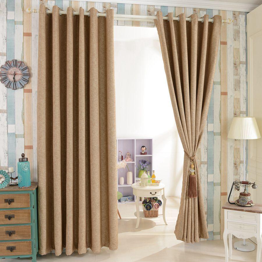 House design beautiful full blind window drapes blackout ... on Living Room Drapes Ideas  id=40100