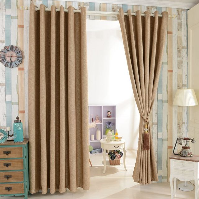 House Design Beautiful Full Blind Window Drapes Blackout Curtain Modern  Curtain For Living Room