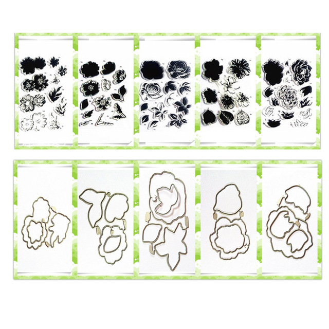 Hand Account Diary Cutting Dies Stencils Children Toys Embossing