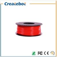 Red color 3d filament abs filament 1.75mm 3d printer 3d printing pen abs plastic filament impressora 3d filamento