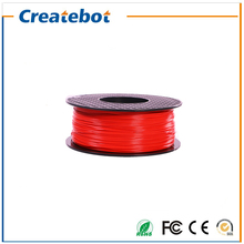Red color 3d filament abs filament 1.75mm 3mm 3d printer 3d printing pen abs plastic filament impressora 3d filamento