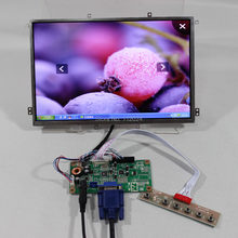 Entrada de sinal VGA lcd controlador board RTMC1B10.1inch B101EW05 V0 1280x800 painel lcd