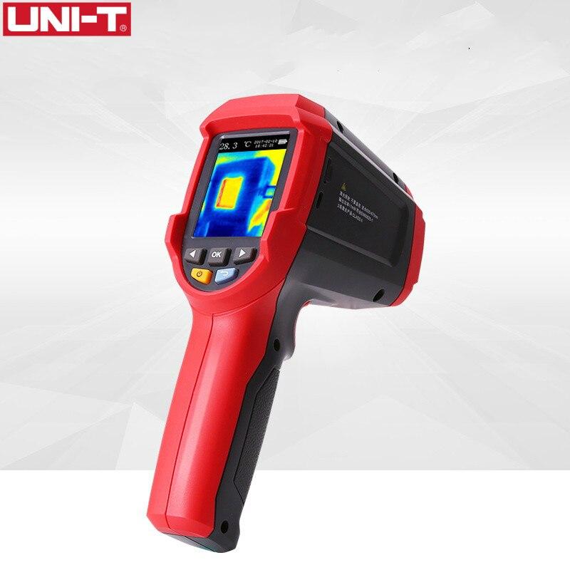 UNI-T UTi80 Imager Thermal Imaging Camera Termômetro Digital Infravermelho Câmera 4800 pixels de Alta Resolução da Cor Da Tela