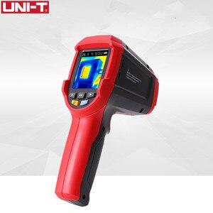 Image 1 - UNI T UTi80 тепловизионная камера цифровой термометр Imager инфракрасная камера 4800 пикселей цветной экран с высоким разрешением