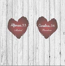 DIY белый серый натуральным деревянная доска красный Индивидуальные свадебного торжества сладкий древесины Photocall backsdrop