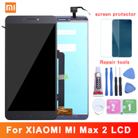 6.44 Original Display For XIAOMI Mi Max 2 LCD Touch Screen with Frame Replacement Screen for Xiaomi Mi Max 2 Display Max2 LCD