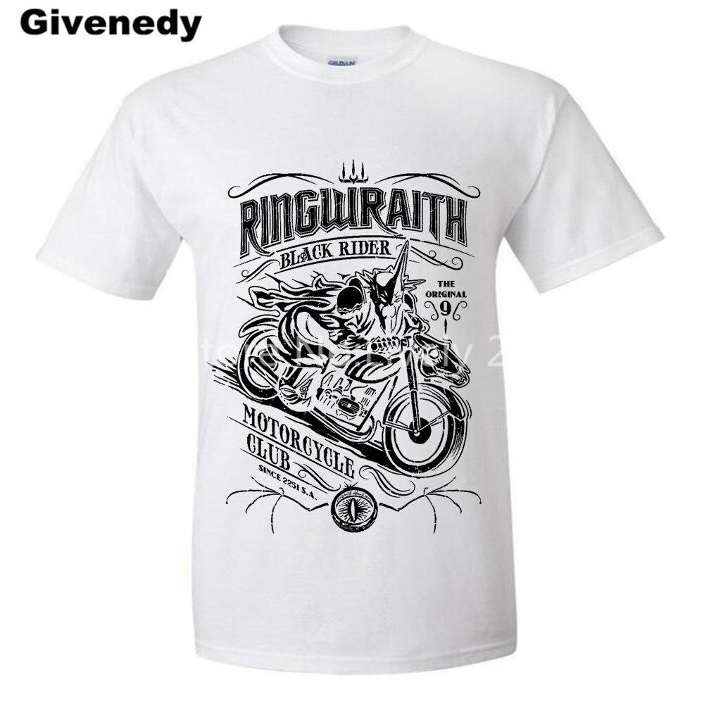 Shirt design easy - Black Rider Motorcycle Club Mens Womens Personalized T Shirt Design T Shirt China