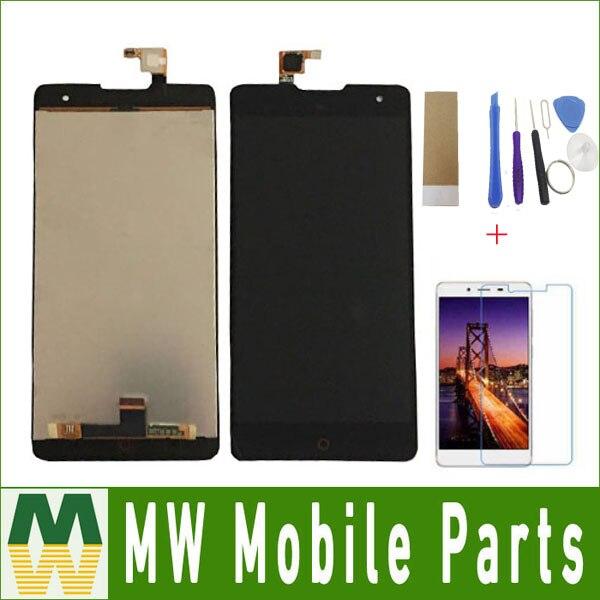 Noir Couleur 1 pc/lot Pour ZTE Nubia Z7 MAX NX505J LCD Affichage LCD Sreen + Tactile Écran Tactile Digitizer Assemblée avec Livraison Kit