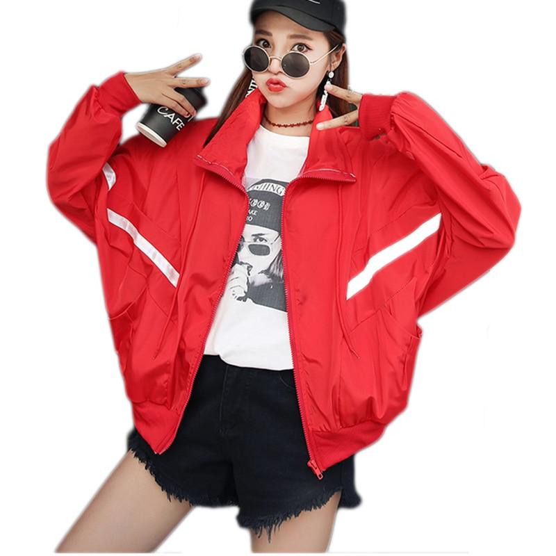 Jackets Women 2018 New Summer Casaco feminino Spring Womens Jacket Fashion Stand Thin Windbreaker Outwear Women Coat