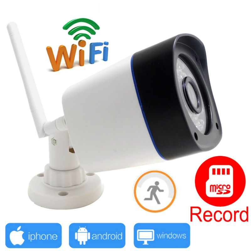 ФОТО WOSHIJIA 2017 IP Camera WIFI 720P Wireless Outdoor Waterproof CCTV Security Support Micro TF record ipcam System wi-fi cam Home