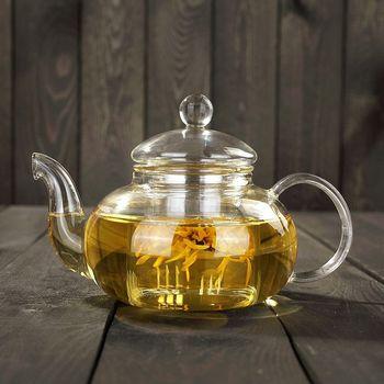Высокое качество термостойкий стеклянный чайник, практичная бутылка цветочный чай чашка стеклянный чайник с заваркой чайный лист травяной... >> Oriental Enjoyable Life Store