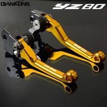 Dirt bike brakes Motorcycle Brake Clutch Levers FOR Yamaha YZ80 2001 2002 2003 2004 2005 2006 2007 2008 2009 2010-2014 YZ 80 motorcycle cnc brakes for honda vfr800 1998 2001 vfr 800 f 2002 2003 2004 2005 2006 2007 2008 2009 2010 2017 brake clutch lever