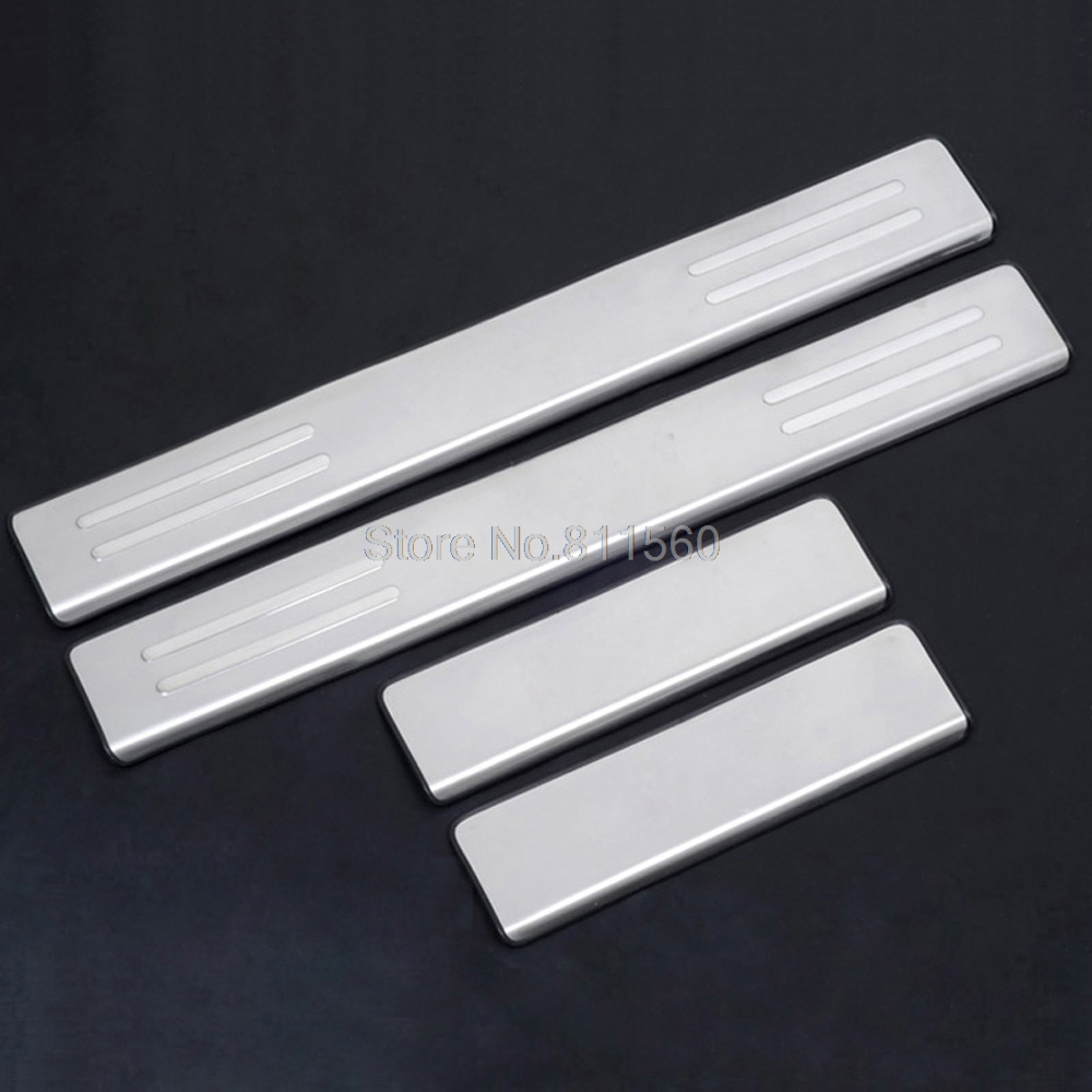 For mazda cx 5 2012 2015 stainless steel scuff plate door sill door protector pedals threshold running boards interior mouldings