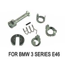 Металлический дверной замок цилиндр ствола Ремонтный комплект для BMW E46 3 серии M3 передние L/R автомобильные аксессуары авто Замена внешние части