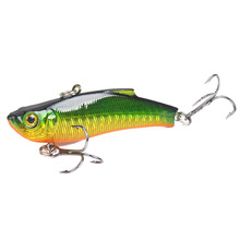 1 Piece 70mm 18g Sea Fishing VIB Bait Lures Isca Artificial Laser 3D Eyes Crankbait Hard Pesca Jigging Tackle