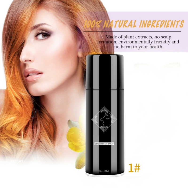 Fashion Disposable Hair Color Spray Long Lasting Not Hurt Hair Color