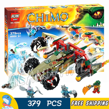 379pcs Craggers Fire Striker Chariot Stealthor Vornon 10294 Model Building Blocks Children Kids Toys Bricks Compatible With lego