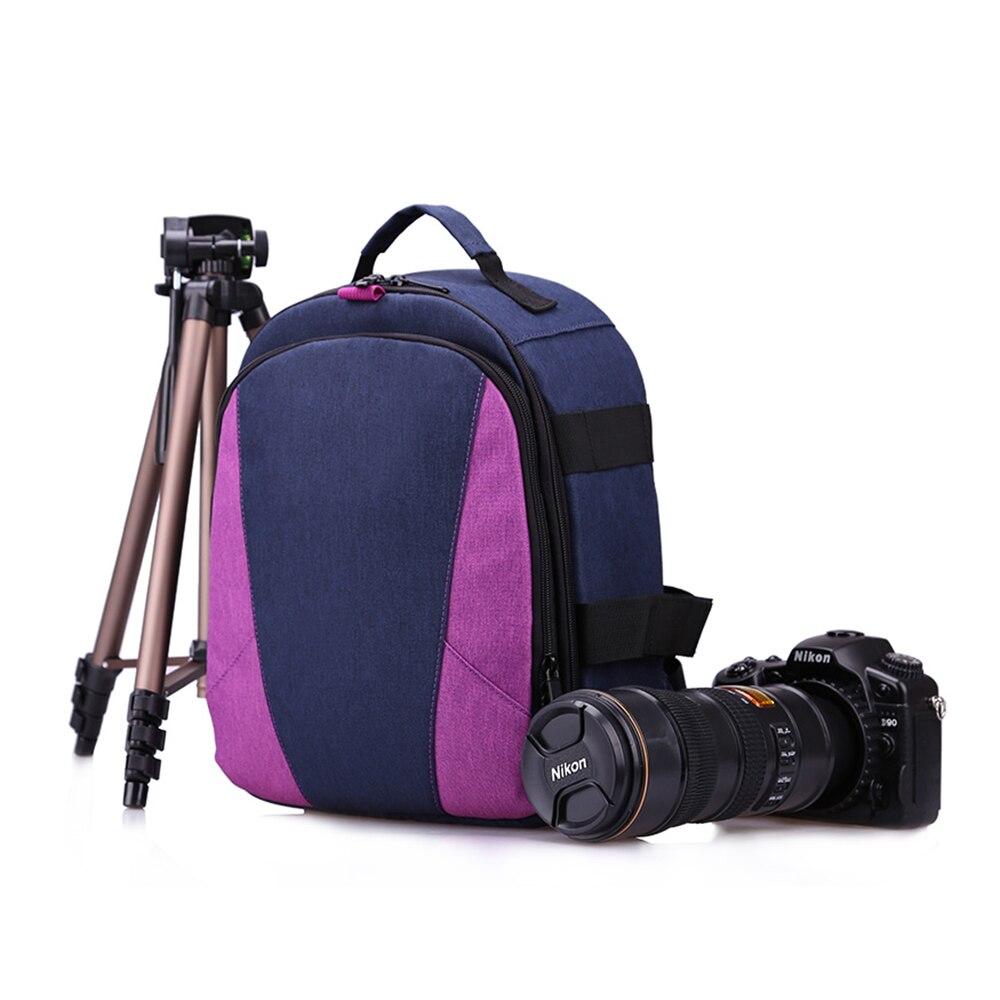 Huwang Multifunctional Dslr Camera Bag Outdoor Photography Travel Backpack Photo Accessories Bag For Nikon Canon Dslr Camera Digital Gear Bags Camera/video Bags