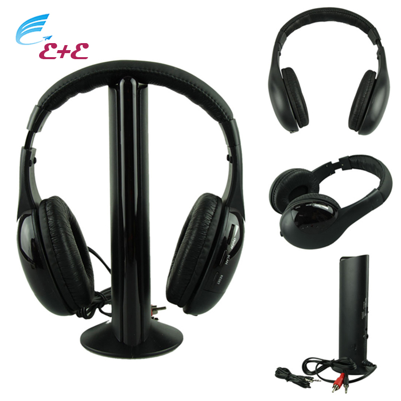 Headphones For a Mobile Phone Wireless Bluetooth Headphone With Microphone Casque Audio Sans Ecouteur Hi-Fi Radio FM TV MP3 MP4* good quality 5in1 wireless audio chat headphone hifi monitor fm mic for pc tv dvd audio mobile home outdoor earphones