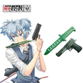 2016 Free Shipping Assassination Classroom Nagisa Shiota S.A.A.U.S.O Handgun and Dagger Free Anime Cosplay PVC Weapon