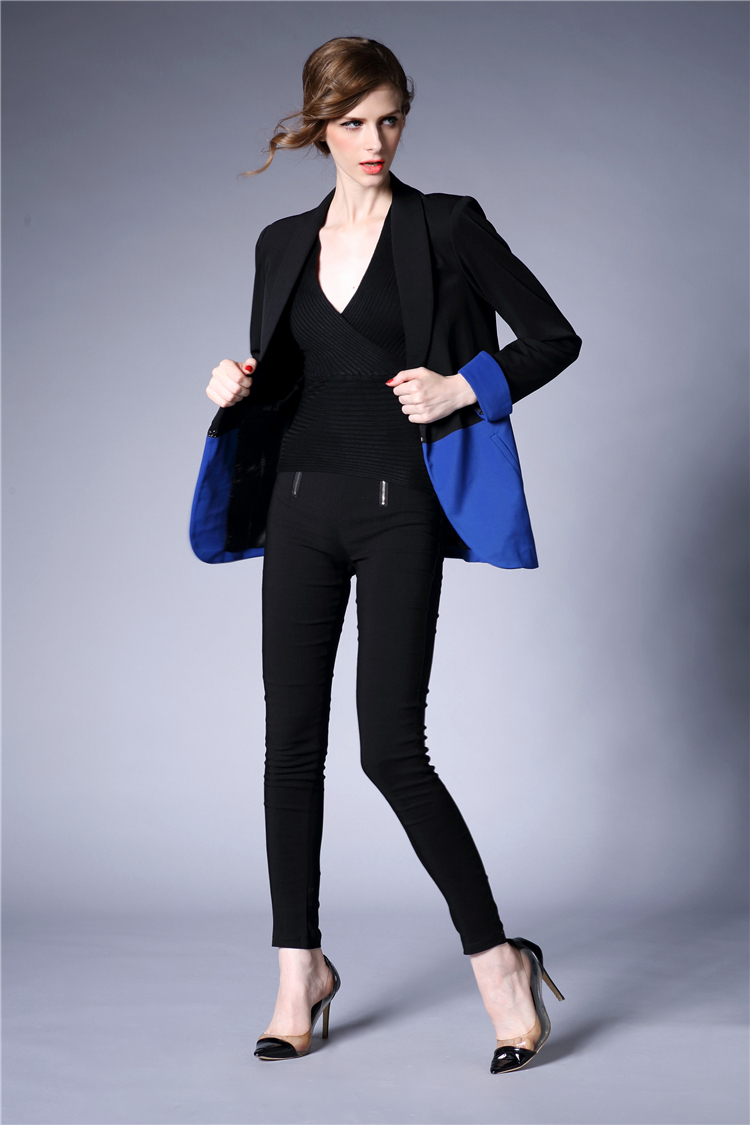 J47280 Factory Direct Sale High Quality Women Blazers and Jackets Wholesaler Promotional On Sale