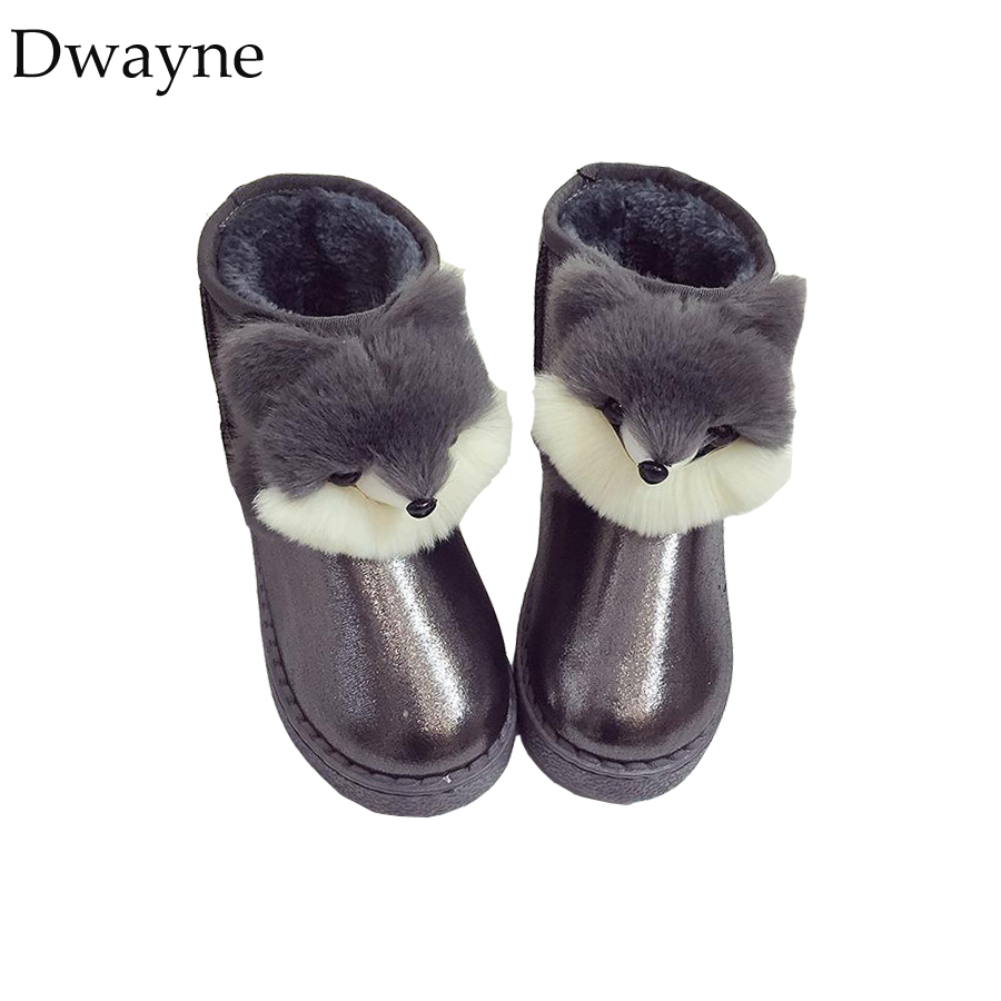 Detail Feedback Questions about Winter Boots for Girls Children s Winter  Shoes Kids Rubber Boots Big Girls Snowshoe Girls Fashion Non slip Fur  Cartoon Boots ... 96fb64225085