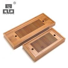 Tangpin 2017 neue ankunft natürlichen bambus tee-tablett bambus tee bord zubehör kung fu tee tablett
