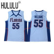 ce58e43444b Vintage  55 Jason Williams Florida Gators College Basketball Jersey  Stitched White(China)