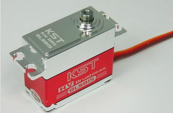 KST BLS815 Brushless High Voltage Metal Gear Servo 0.07sec 8.4V 20kg for 1/10 rc car cys bls5120 brushless motor 20kg metal gear digital servo jr plug 30cm cable for rc model vehicle aircraft