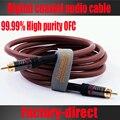 Бесплатная доставка 1 шт. Высокое качество цифровой коаксиальный кабель коаксиальный кабель шнур сабвуфер кабеля 1.5 м / 3 м / 5 м