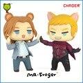 2016 Новый Mr. Froger X-Men Апокалипсис фигурку Тиби Милые Игрушки Куклы Пара Профессор Икс Магнито модели коллекция Классический Кукла
