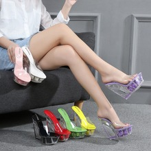 Sexy Summer Fashion High Heels 12CM Sandals Slippers Mules