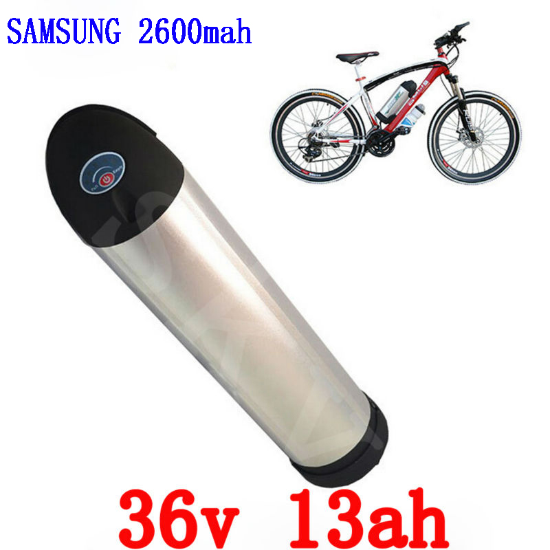 Great Rechargeble Electric Bike 36V 13AH Water bottle for use Samsung cell Battery water kettle with BMS Board and Charger