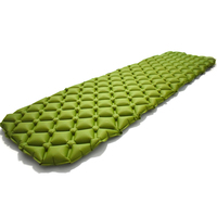 ONLY 450g Outdoor Inflatable Cushion Sleeping Bag Mat Fast Filling Air Moistureproof Camping Mat With Pillow